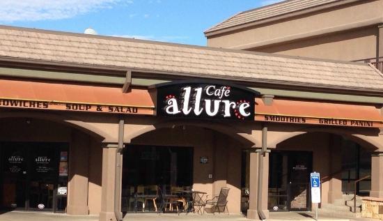 Cafe Allure: Cafe Entrance