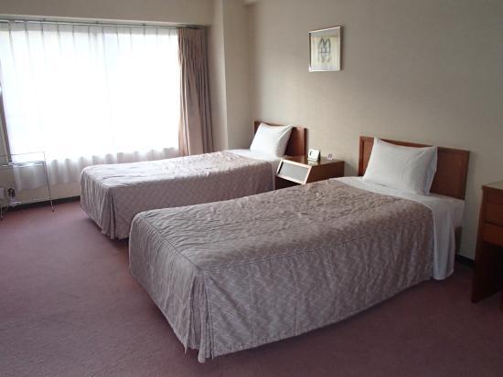 Muica Onsen Hotel : 和洋室の洋室