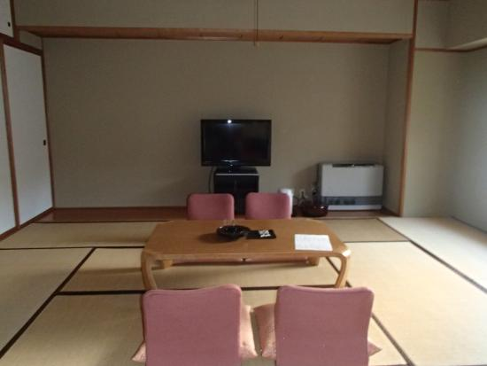 Muica Onsen Hotel : 和洋室の和室