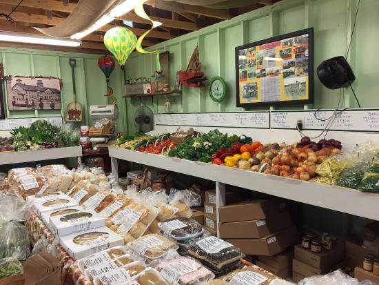 Stratford, Canadá: 新鮮な野菜やパン