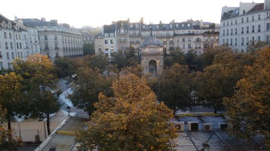 Citadines Les Halles Paris: View from Room