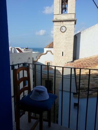 Pension Chiki: Балкончик