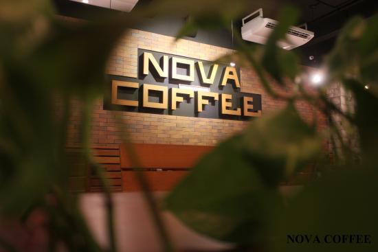 NOVA Coffee: interior view
