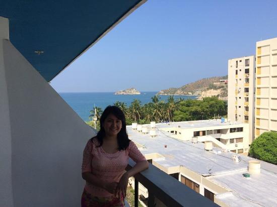 Hotel Betoma: vista del balcon del hotel