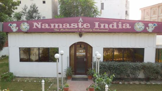 Namaste India: Restaurant Entry