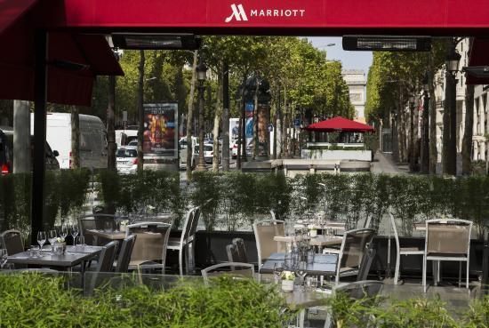 Marriott Square Terrace On The Champs Elys 233 Es Picture