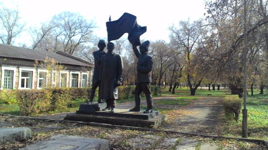 Shhetinkin, Kravchenko And Surguladze Monument