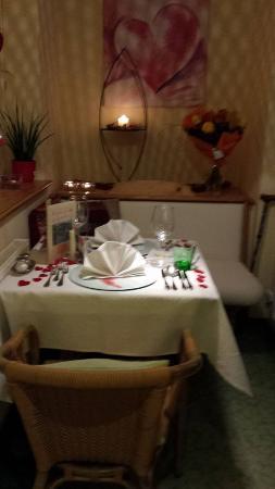 Hotel Prägant: unser cadnleleight-dinner