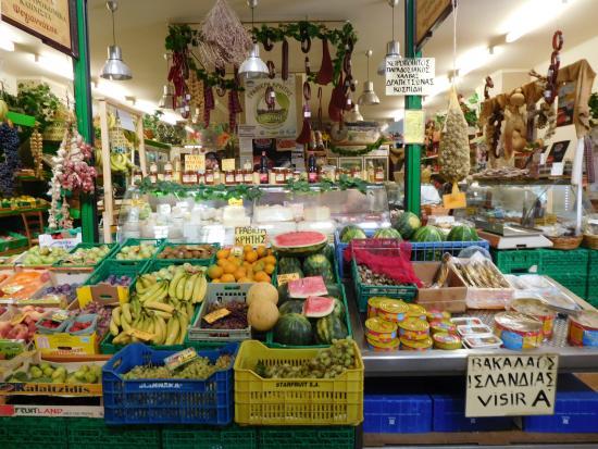 Frutta e verdura foto di mercato agora di chania chania for Mercato frutta e verdura milano