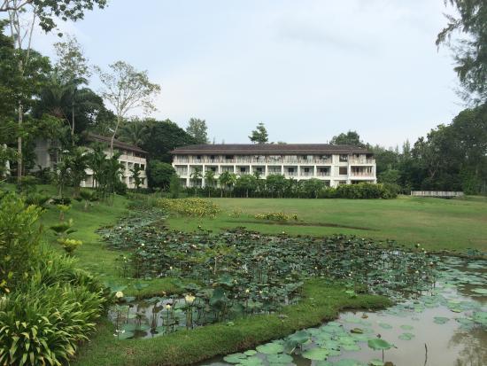 Dusit Thani Krabi Beach Resort: Hotel & grounds, Dust Thani, Hotel