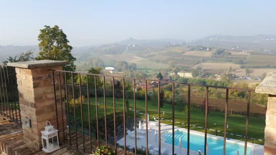 Agliano Terme, إيطاليا: Panorama dalla terrazza