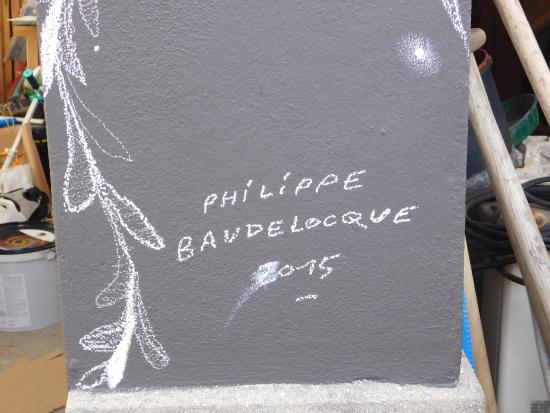 Vitry-sur-Seine, Γαλλία: artist who decorated outside
