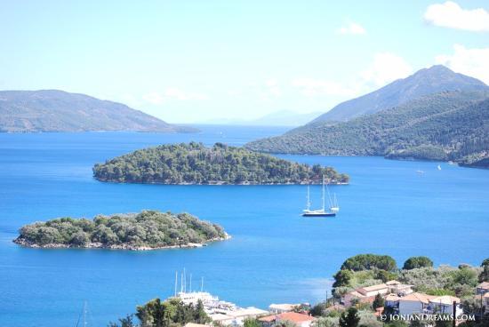 Perigiali, Grecja: Θέα από το δωμάτιο