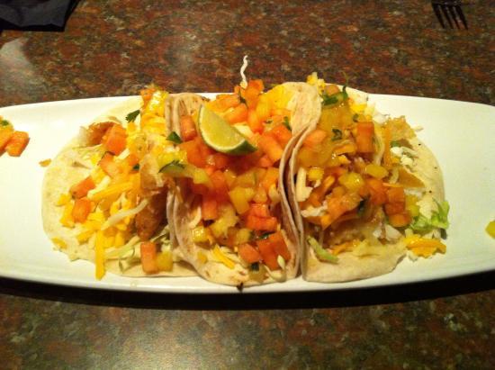 CJ's American Pub & Grill : Fish Tacos
