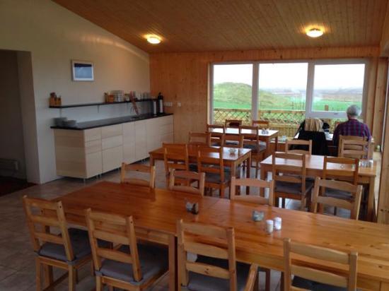 Hornafjorour, Islandia: Dining area