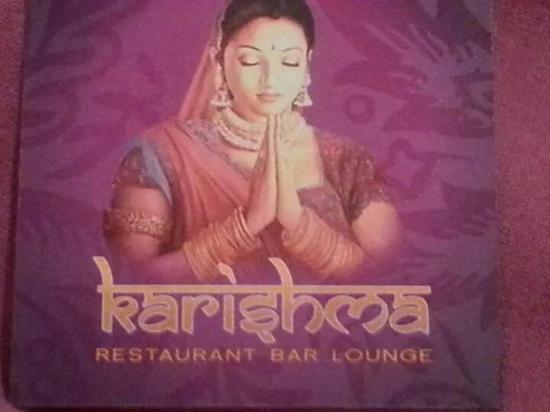 Karishma Lounge: superbe restaurant. Super cuisine.
