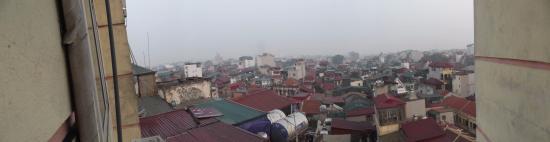 Hanoi Ruby Hotel: вид из окна