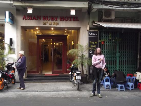 Hanoi Ruby Hotel: вход