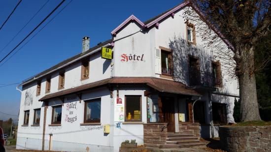 Hotel Restaurant des Vosges: Hotel entrance
