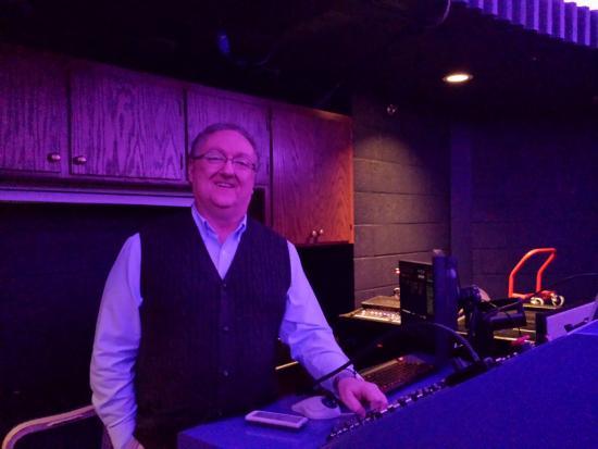 Rollins Planetarium: Steve Morgan, Planetarium Director talking to the group