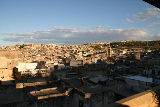 Riad Laayoun: Blick vom Roofgarden