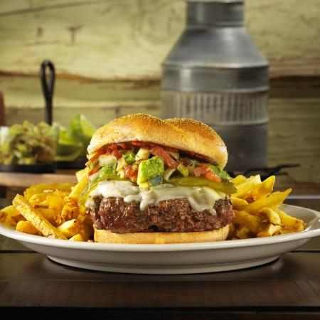 New Mexico Burger - Picture of Ted's Montana Grill, Gaithersburg ...