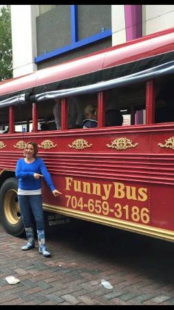 Comedy Bus Tour Charlotte Nc