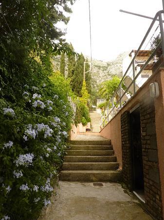 Treppen zu den Apartments - Picture of Captain\'s Apartments, Barbati ...