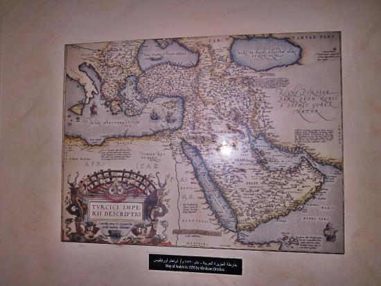 map of Arabia Picture of Dubai Museum Dubai TripAdvisor – Map of Arabia