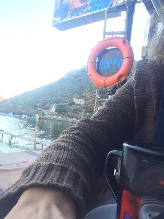 Porto Kayio, Hellas: Πρωινό Μαρίας!!!!