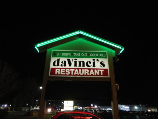 Outdoor Sign Picture Of Davinci S Italian Restaurant