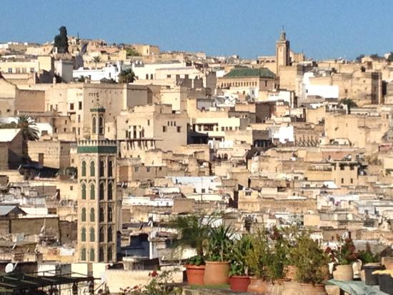 Riad Le Calife : View from the terrace