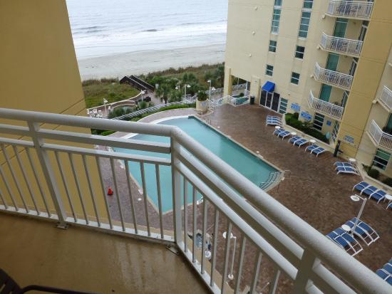 Guest Rooms 2 Double Beds Picture Of Wyndham Ocean Boulevard North Myrtle Beach Tripadvisor