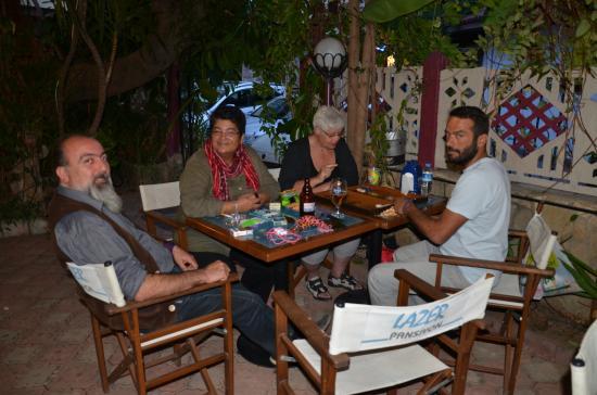 Lazer Pension: Friends in the Garden of Lazer