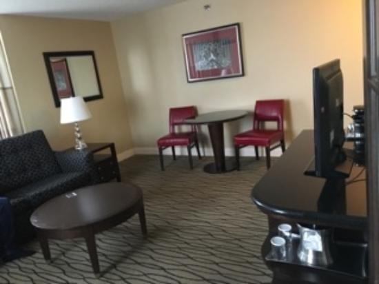Dining Area In Suite Picture Of Hilton Rosemont Chicago O 39 Hare Rosemont Tripadvisor