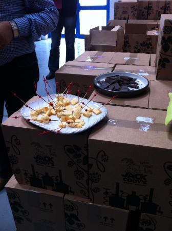 Drogheda, Irlanda: Cheese and beer tasting!