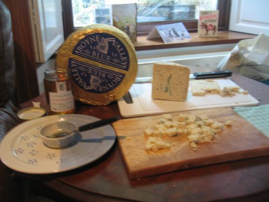 Drogheda, Irland: local blue cheese