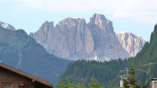 Fassa Valley, Italia: Gruppo del Sassolungo da Pozza di Fassa