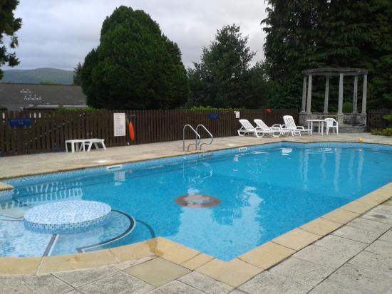 Pennal, UK: Outdoor pool