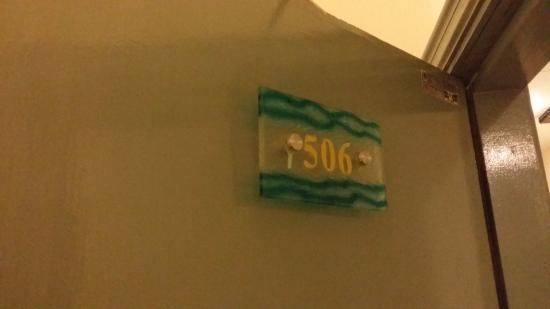 DeGalleria Hotel: Room Number