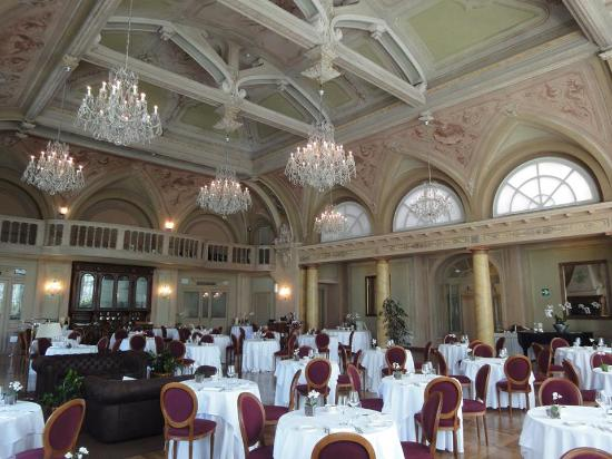 grand hotel bagni nuovi dining room