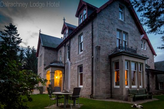 Dalrachney Lodge Hotel: Exterior view