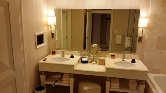 Bathroom Sinks Las Vegas bathroom with double sinks - picture of wynn las vegas, las vegas