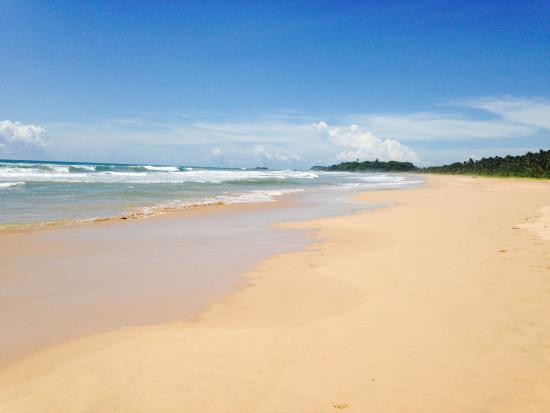 Sri Budhasa Ayurveda Resort: Bentota Beach, towards Buddha Temple