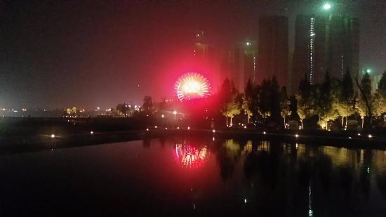 Changsha Ferris wheel in the night