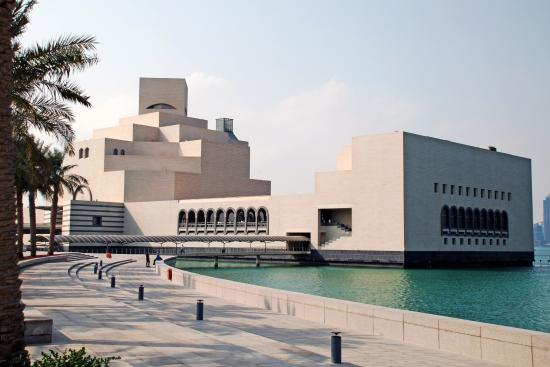 The Museum Of Islamic Art In Doha Qatar Was Designed By Architect