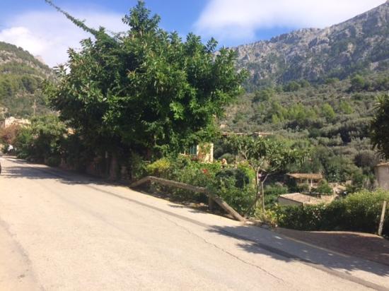 Fornalutx, Hiszpania: Lokal vom Parkplatz aus