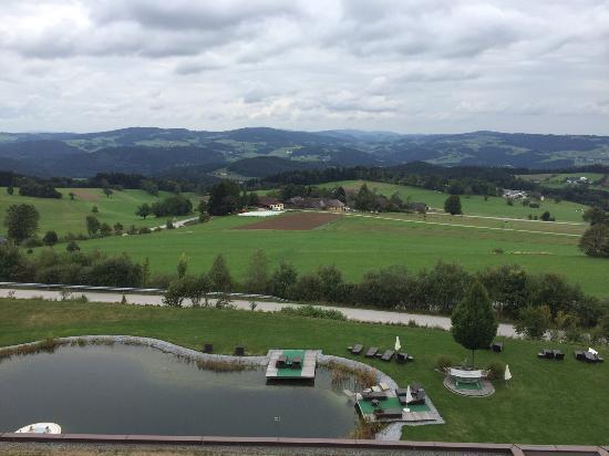 St. Stefan am Walde, Österrike: Eingangsbereich und Aussicht