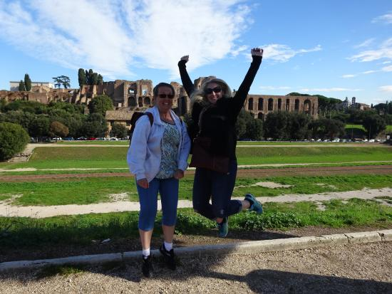 """Day Tour in Italy: Dominique was an expert """"jump picture"""" taker"""