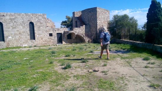Filerimos, Grecja: Resti bizantini